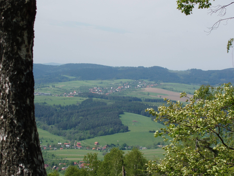 088480e0f25 Pohled z kopce Ploštiny - obrázek v originálním formátu ...
