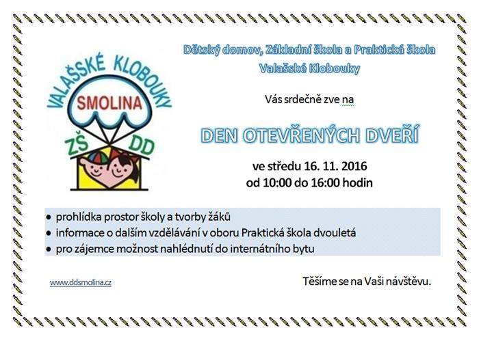 Den otevřených dveří v základní a praktické škole ve Smolině  Osobní ... cff32635ed