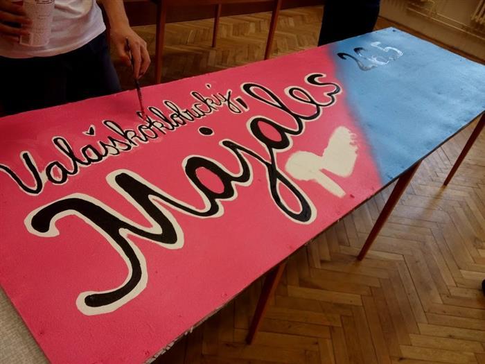 Studenti jsou v plných přípravách na Majáles  Valašské Klobouky 4d50b04a41