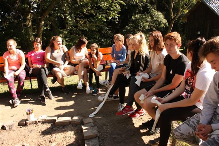 Žáci SOU absolvovali adaptační kurz na Jelenovské  Valašské Klobouky 6480b61463