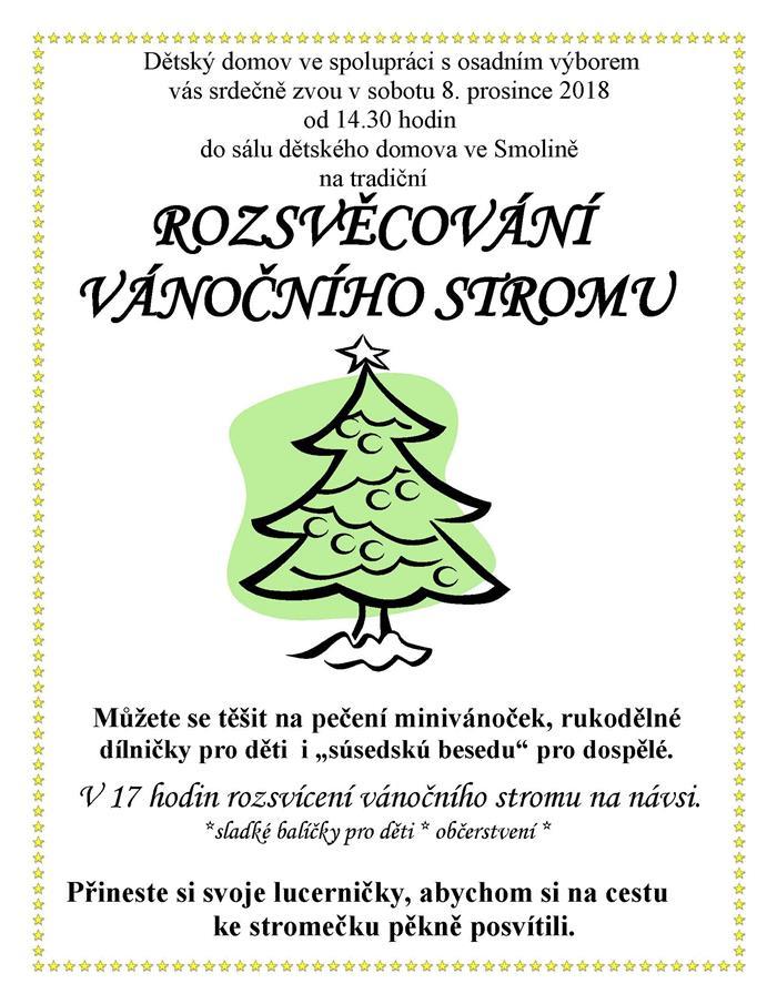 Súsedská beseda a rozsvícení vánočního stromu ve Smolině  Valašské ... 7e5147b2bb